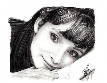 Audrey Hepburn by Rosalinda Markle
