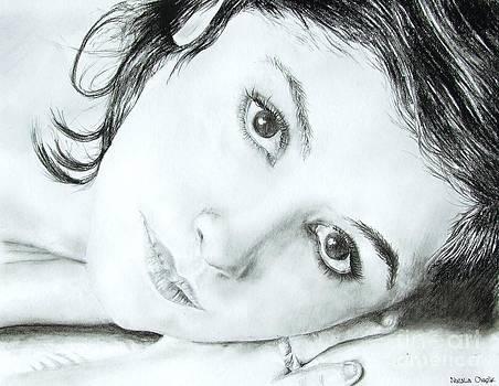 Audrey Tautou by Natalia Chaplin