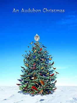 Audubon Christmas Card by Ric Soulen