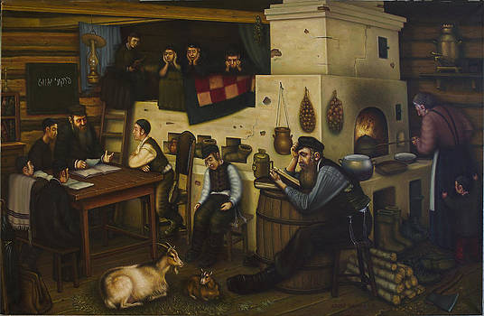 Oyfn Pripetchik  brant a Fayrl . by Eduard Gurevich