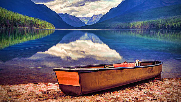 August afternoon at the lake by Jaki Miller