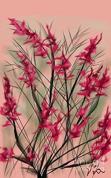 Judy Via-Wolff - August Flowers