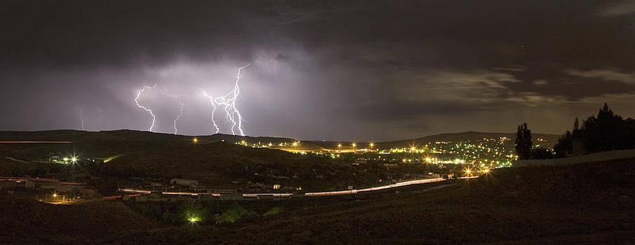 August Lightning by David Halter