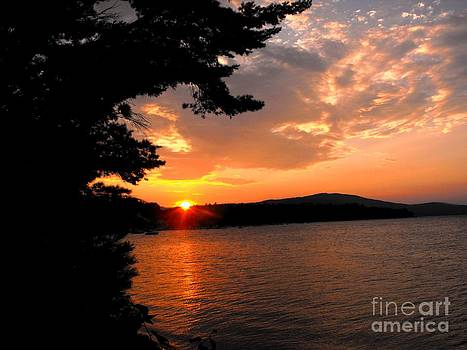 August Sunset 2012 by Lisa Gifford