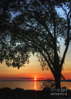 August Sunset by Pamela Baker