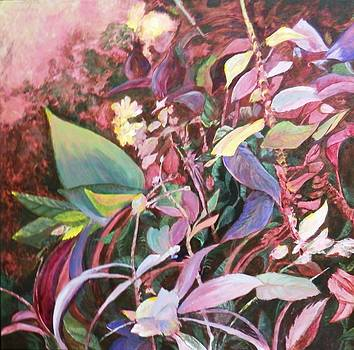 August Tangle by Marilyn McMeen Brown
