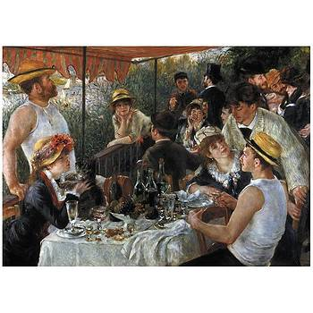 Auguste Renoir Luncheon of The Boating Party 1881 by James Nance