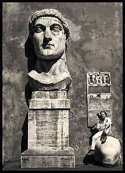 Augusto De Luca / autoritratto a Roma. 22 by Augusto  De Luca