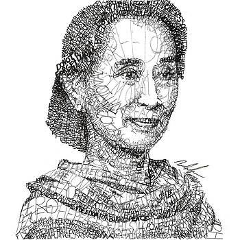 Aung San Suu Kyi by Michael Volpicelli