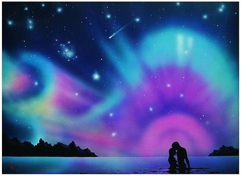 Aurora Borealis Art  by Nikola Peranovic