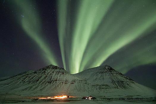Aurora Borealis by Bernhardur Gudmundsson
