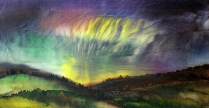 Aurora Borealis by Hazel Millington