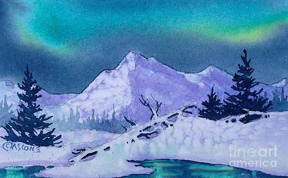 Aurora Reflection by Teresa Ascone