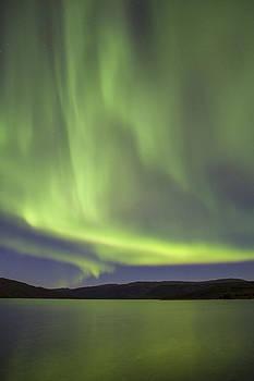 Tim Grams - Auroras over Wonder Lake
