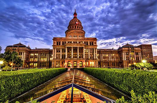Austin Capitol at Sunset by John Maffei