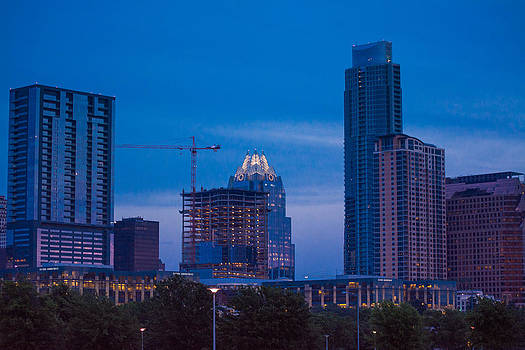 Austin Texas Skyline by Jason Brow