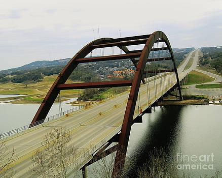 Austin TX Bridge by Dazzling Light Photography
