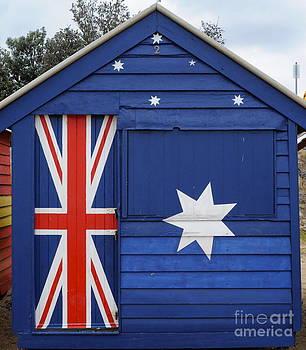 Australian Flag by Kate Stoupas