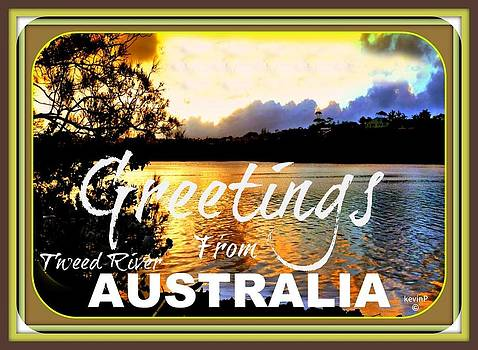 Australian greeting cards by Kevin Perandis