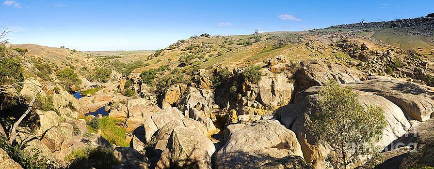Tim Hester - Australian Outback Canyon