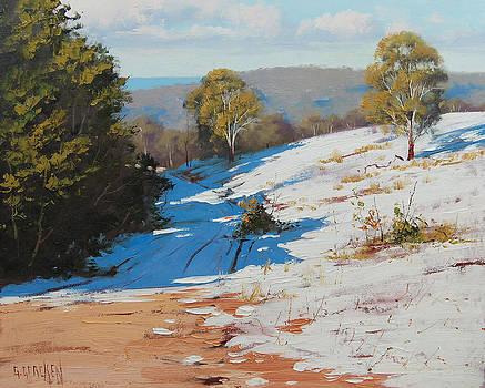 Australian Winter snow by Graham Gercken