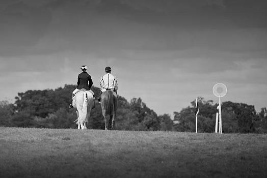Auteuil Riders by Peter Falkner