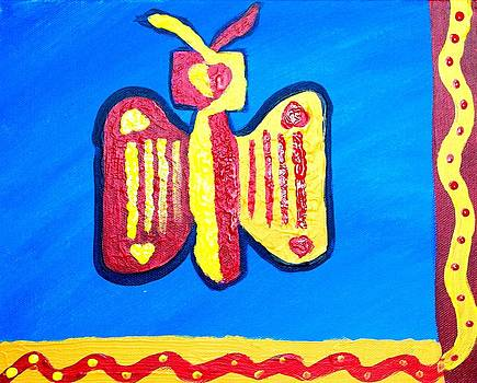Artists With Autism Inc - Autism Butterfly