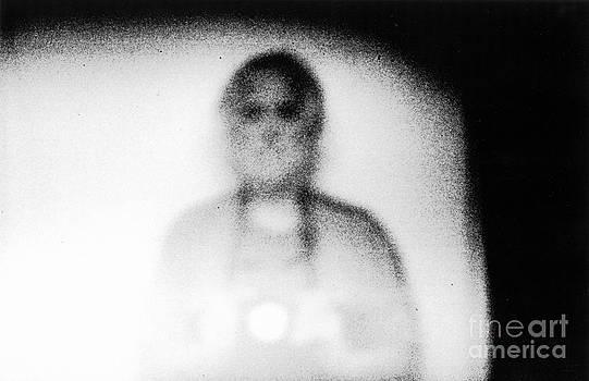 Andre Paquin - Autoportrait au stenope numerique