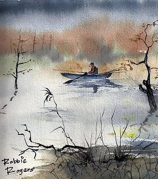 Autum Fog by Robbie L Rogers