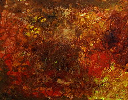 Autumn Abstract by Catherine Howley
