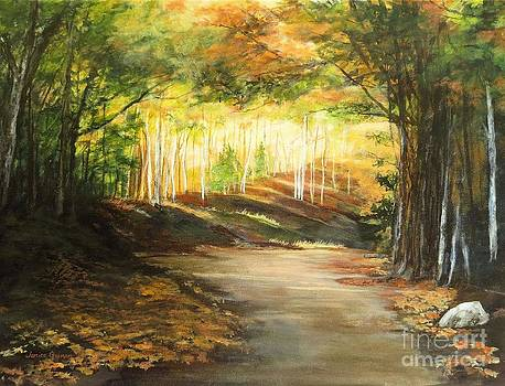 Autumn Amber by Janice Guinan