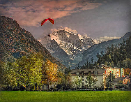 Autumn and the Jungfrau by Hanny Heim