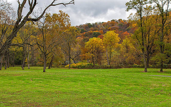 Autumn at Beaver Creek State Park by John M Bailey