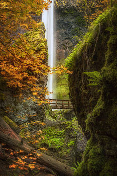 Autumn at Elowah by Jon Ares