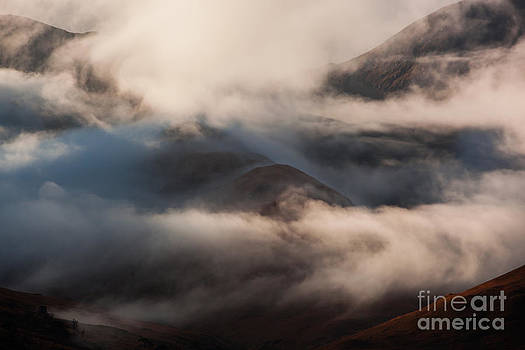 Autumn at Glen Etive by Gabor Pozsgai