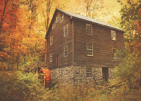 Autumn At Millbrook 8 - The Grist Mill by Pat Abbott