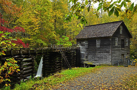 Autumn At Mingus Mill by Eric Albright