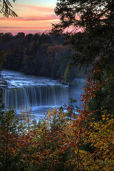 Autumn at Tahquamenon Falls by Megan Noble