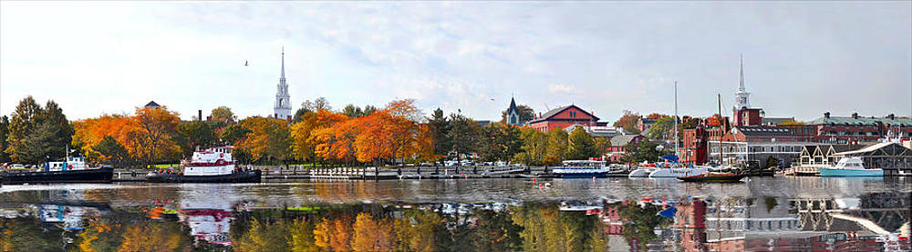 Autumn Boardwalk 2010 by John Brown