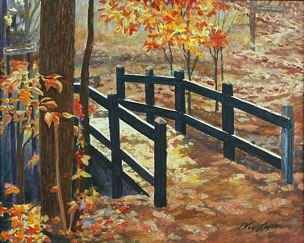 Autumn Bridge by Wes Loper
