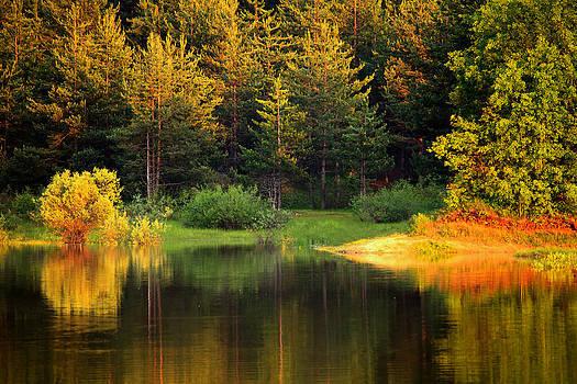 Autumn Bulgarian Lake by Svetoslav Sokolov