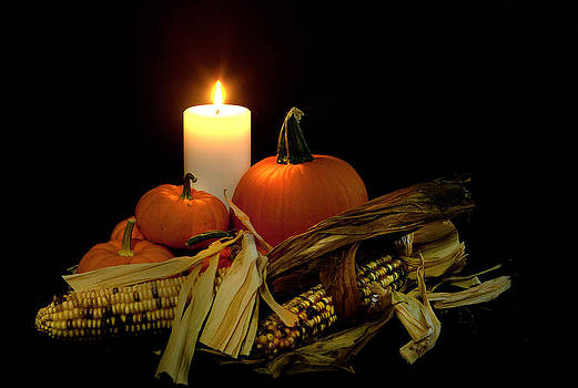 Autumn by Candle Light by Cecil Fuselier