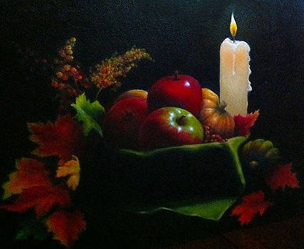 Autumn by Candlelight by Diana L Hund