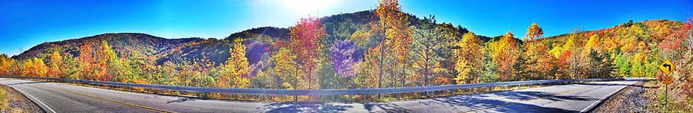Autumn Cherokee Road by Kyle Ferguson