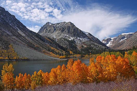 Autumn Colors in the Eastern Sierra's Lundy Canyon by Steve Wolfe
