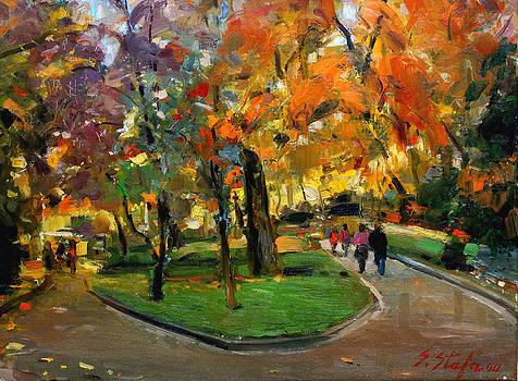 Autumn Colors - Lugano by Sefedin Stafa