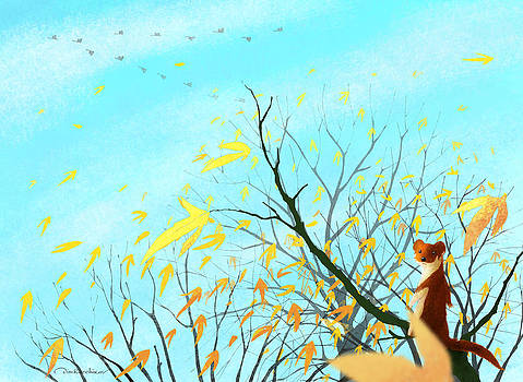 Autumn Day by Dmitry Rezchikov