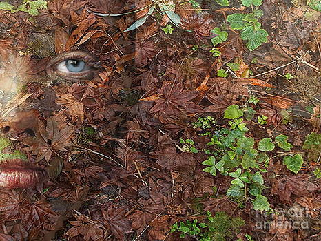 Autumn Dryad Forest Floor by Maureen Tillman