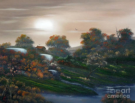 Autumn Falls Over by Cynthia Adams