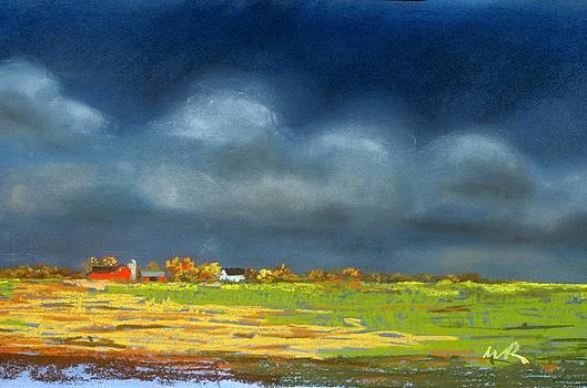 Autumn Farm by William Renzulli